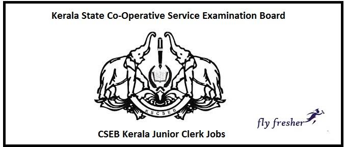 CSEB Kerala Junior Clerk Job