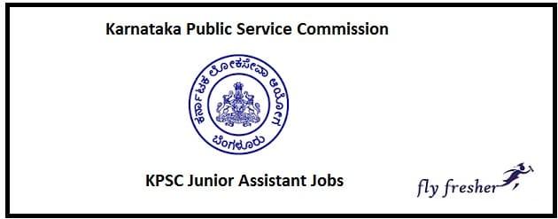 KPSC Junior Assistant Jobs