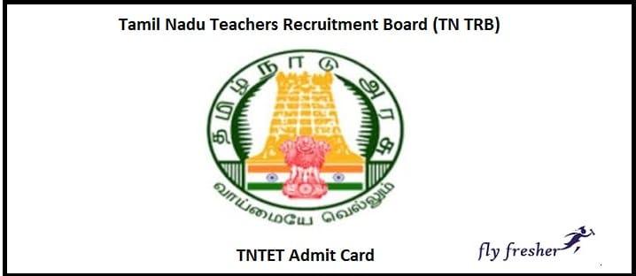 TNTET Admit Card