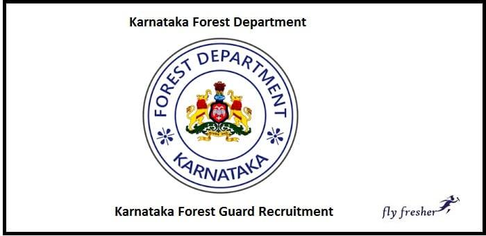 Karnataka Forest Guard Recruitment