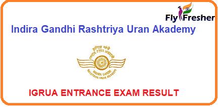 IGRUA-Entrance-Exam-Result