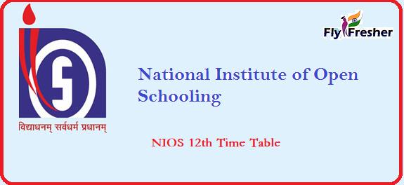 NIOS-12th-Date-Sheet