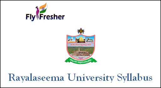 rayalaseema-university-syllabus