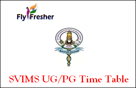 svims-time-table