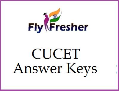 CUCET Answer Keys