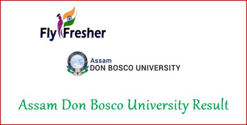 assam-don-bosco-university-result