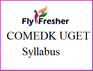 COMEDK UGET Syllabus