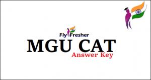 MGU-CAT Answer-Key