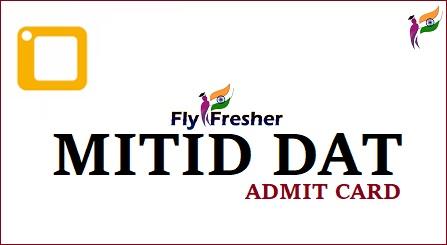 MITID-DAT-Admit-Card