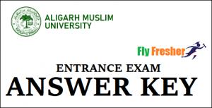 AMU-School-Entrance-Answer-Key