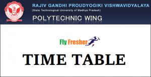rgpv-Diploma-time-table