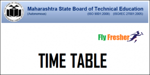 MSBTE-Time-Table
