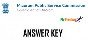 Mizoram-PSC-Junior-Grade-Answer-Key