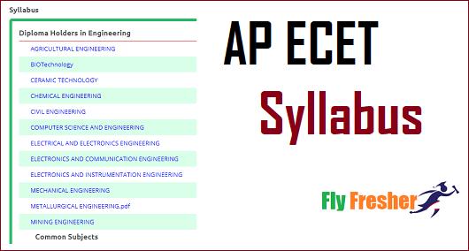 AP-ECET-Syllabus