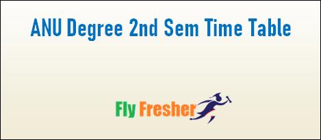 anu-degree-2nd-sem-time-table